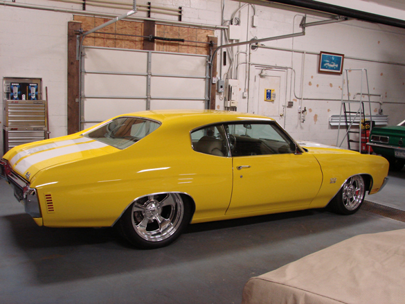 Best of the Best Pro Touring 70  Chevelle SS