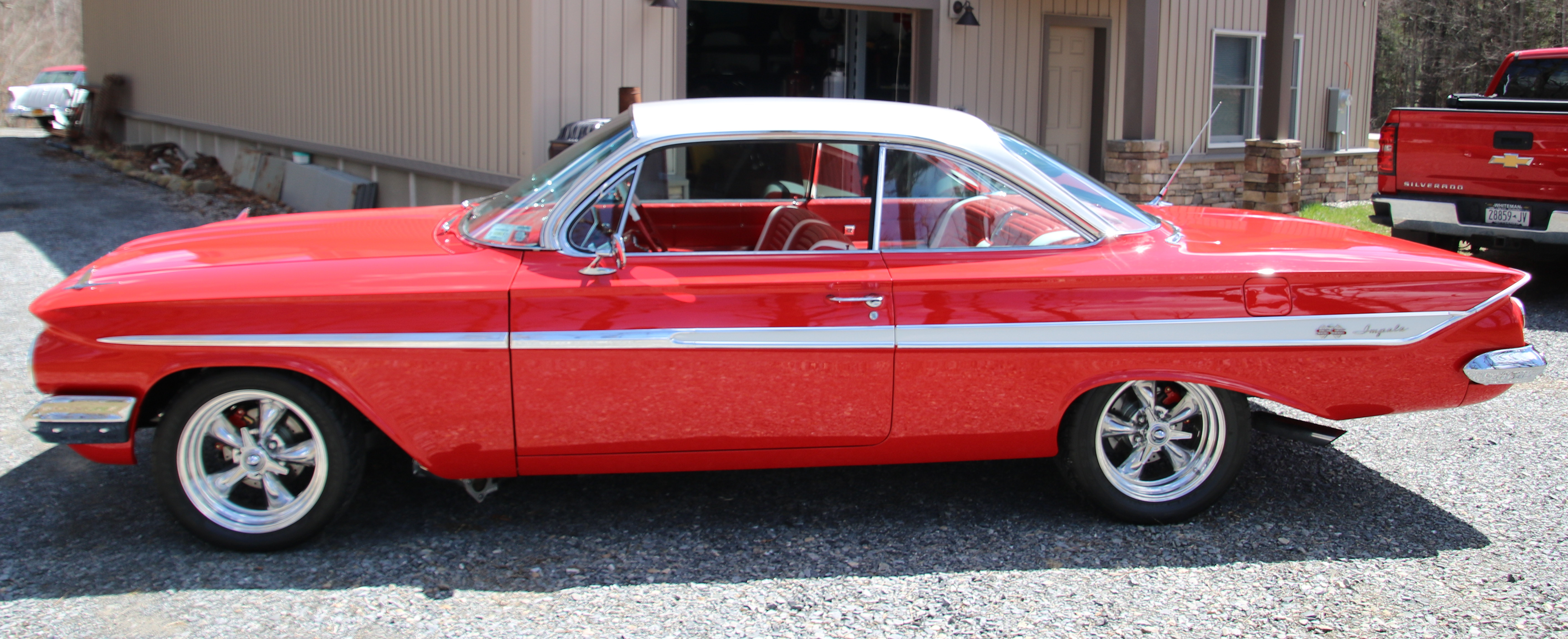 '61 Chevrolet 409 Bubble Top